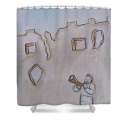 Walls Of Jericho Shower Curtain