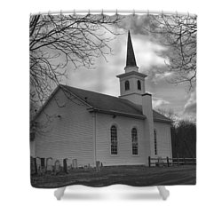 Waterloo United Methodist Church - Back Shower Curtain