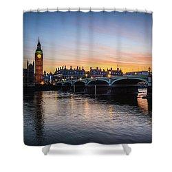 Westminster Sunset Shower Curtain