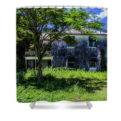 Shower Curtain featuring the photograph Westmoreland Plantation by Stuart Manning
