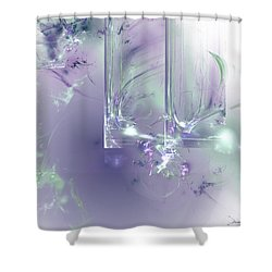 What I Love Shower Curtain
