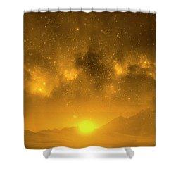 Where Dreams Come True 11 Shower Curtain