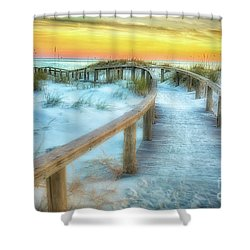 Where The Path Leads Shower Curtain