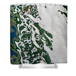 Whimsical Reflection Shower Curtain