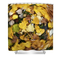 Whirlpool Of Autumn Shower Curtain