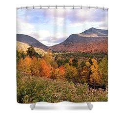 White Mtns Waterville Valley 2 Shower Curtain