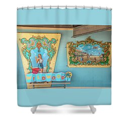 Shower Curtain featuring the photograph Wildwood Days 2 by Kristia Adams