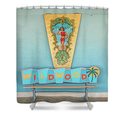 Shower Curtain featuring the photograph Wildwood Days by Kristia Adams