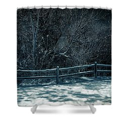 Winter Arrived Shower Curtain