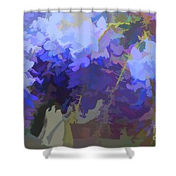 Wisteria Colours Shower Curtain