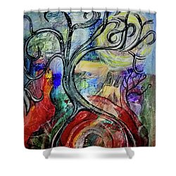 Witching Tree Shower Curtain
