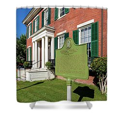 Woodrow Wilson Boyhood Home - Augusta Ga 1 Shower Curtain