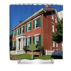 Woodrow Wilson Boyhood Home - Augusta Ga 2 Shower Curtain