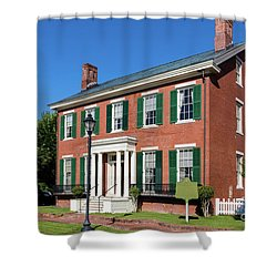 Woodrow Wilson Boyhood Home - Augusta Ga 3 Shower Curtain