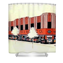 Woolworth On Market St. Shower Curtain