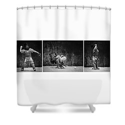 Working It Shower Curtain