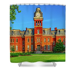 Wvu Campus Shower Curtain