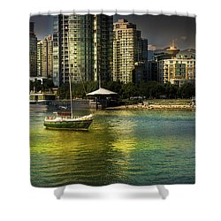 Yaletown Sunset Shower Curtain