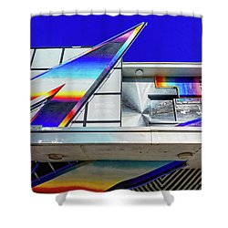 Shower Curtain featuring the photograph Zed by Skip Hunt