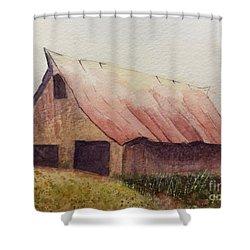 Zeke's Barn Shower Curtain