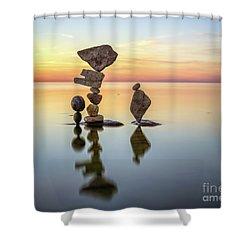 Zen Art Shower Curtain