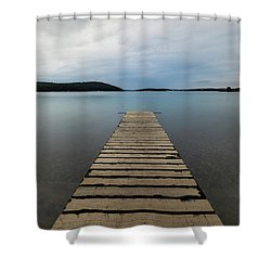 Shower Curtain featuring the photograph Zen II by Davor Zerjav
