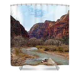 Zion Canyon Shower Curtain