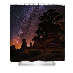 Shower Curtain featuring the photograph Zion by Tassanee Angiolillo