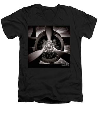 Air Power Men's V-Neck T-Shirt
