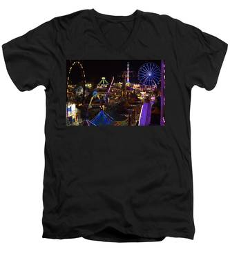 Atop The Carnival Men's V-Neck T-Shirt
