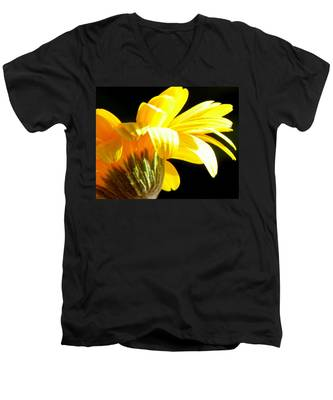 Canopy Of Petals Men's V-Neck T-Shirt