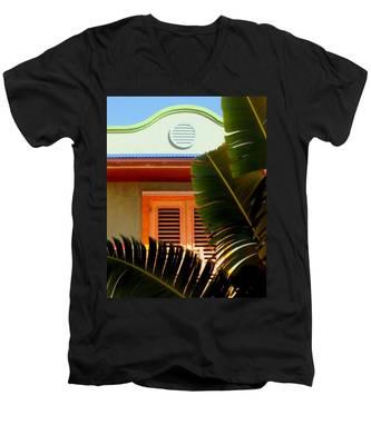 Cool Tropics Men's V-Neck T-Shirt