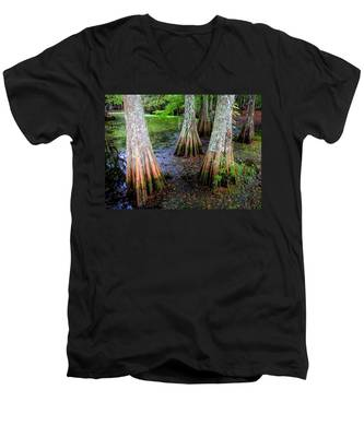 Cypress Waltz Men's V-Neck T-Shirt