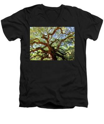 Entangled Beauty Men's V-Neck T-Shirt