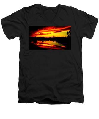Epic Reflection Men's V-Neck T-Shirt