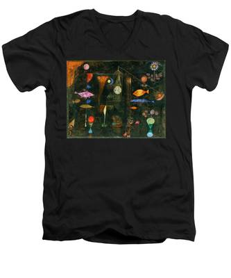 Fish Magic Men's V-Neck T-Shirt