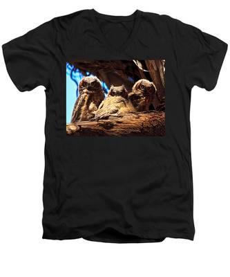 Hoo Are You Men's V-Neck T-Shirt
