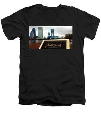 Jacksonville Men's V-Neck T-Shirt