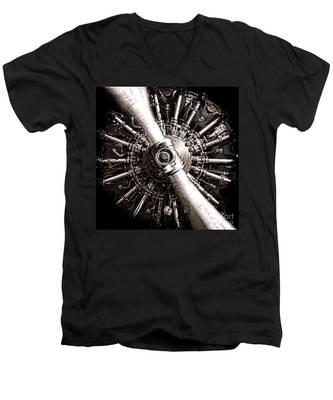 Lycoming  Men's V-Neck T-Shirt