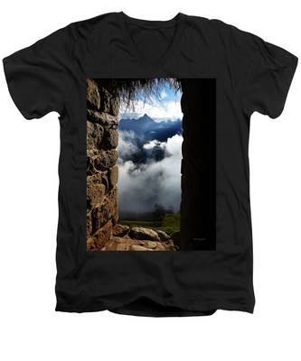 Machu Picchu Peru 4 Men's V-Neck T-Shirt