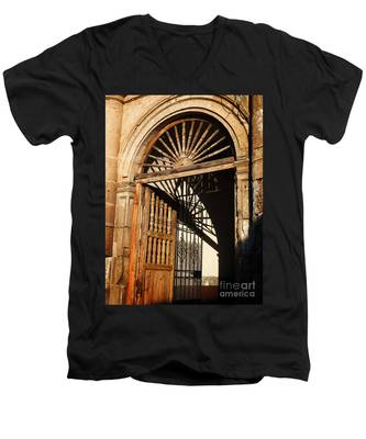 Mexican Door 27 Men's V-Neck T-Shirt