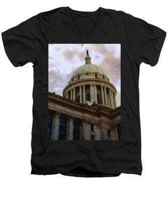 Oklahoma Capital Men's V-Neck T-Shirt