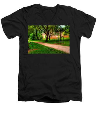 Men's V-Neck T-Shirt featuring the photograph Ontario by Joseph Amaral