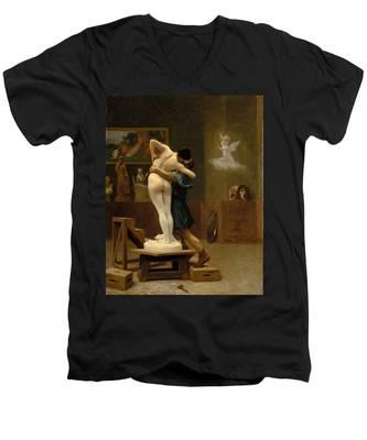 Pygmalion And Galatea Men's V-Neck T-Shirt