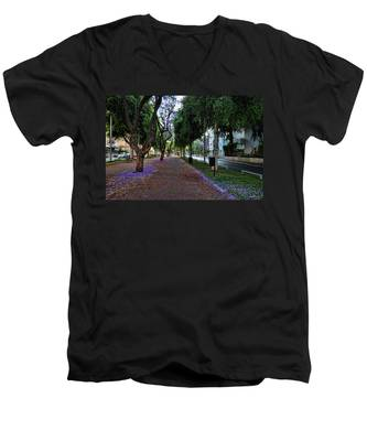 Rothschild Boulevard Men's V-Neck T-Shirt