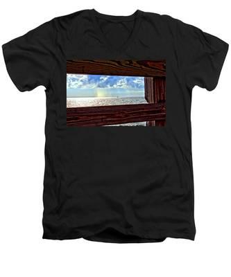 Shine It Down Men's V-Neck T-Shirt