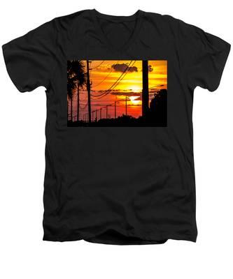 Summers Best Men's V-Neck T-Shirt