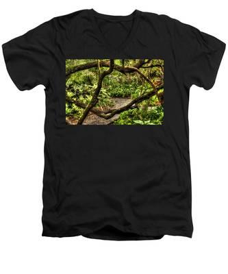 Tangled Path Men's V-Neck T-Shirt