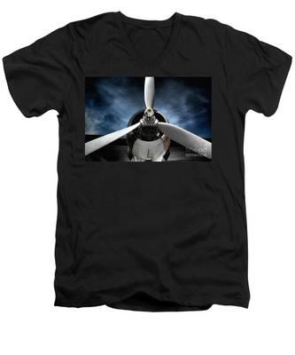 The Mission Men's V-Neck T-Shirt