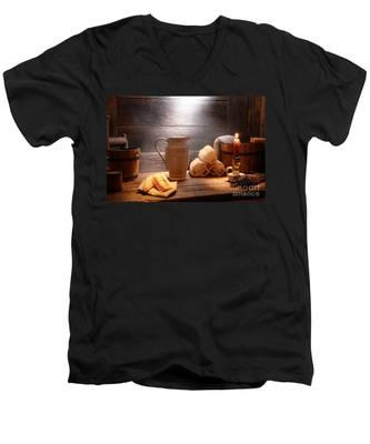The Old Bathroom Men's V-Neck T-Shirt